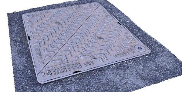 manhole cover 3d 3ds