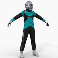 NextEV Formula E Driver