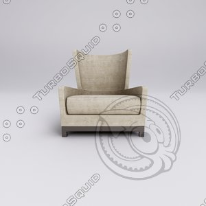 3d max chair armchair ludovisi