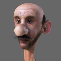 Rigged Cartoon Man