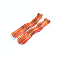 3d c4d realistic set fried bacon