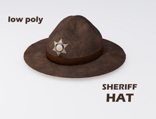 max sheriff hat
