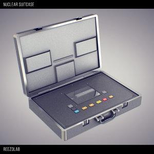 3d obj nuclear suitcase