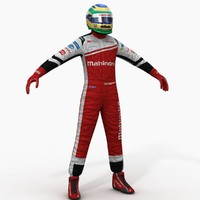 Mahindra Formula E Driver
