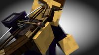 minecraft 3d model