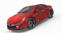 3d max car concept sport
