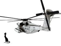 sikorsky super stallion ch-53 3d max