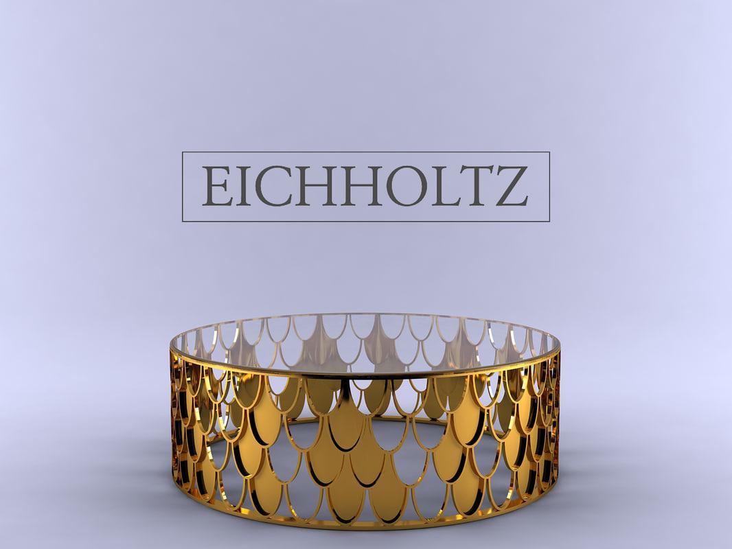 3d model eichholtz coffee table l