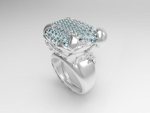 ring 001 3d obj