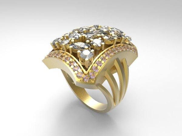 3d ring 002 model