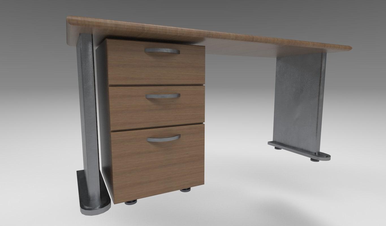 desk 2 3d fbx