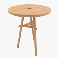 3d fbx shibui table