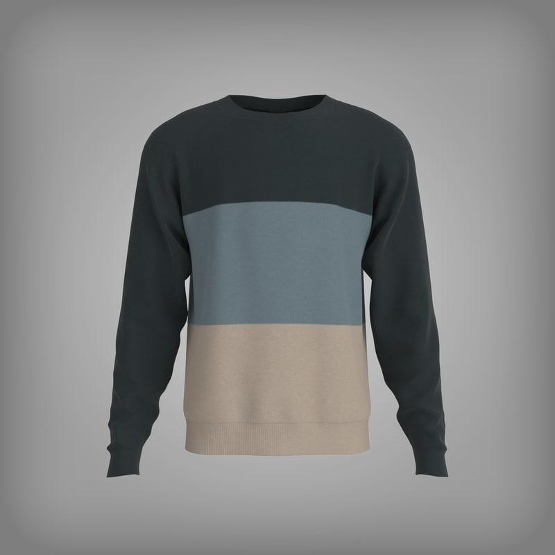 3d unisex sweater