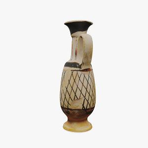 pottery greek 3d obj