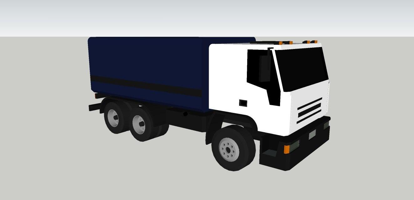 truck tector attack 3d dwg