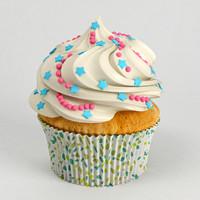 3d model cupcake cake