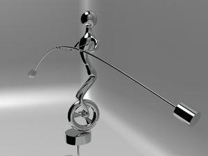 3d model kinetic sculpture
