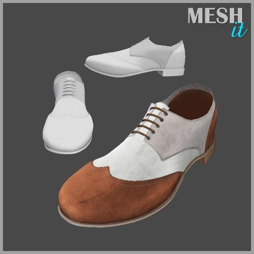 male shoes 3d 3ds