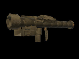 missile fim-92 stinger obj