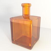 3d model bottle color