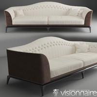3d model freyr sofa
