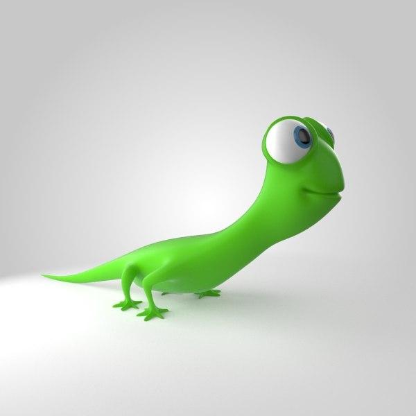 gecko 3d max