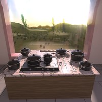 cooking set 3ds