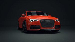 3d modelled custom car