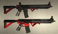 Sig Sauer AR-15 Arctic and Tactical