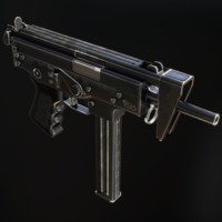 PP-91 KEDR Submachine Gun