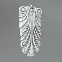 3d model of classical decoration ornamental