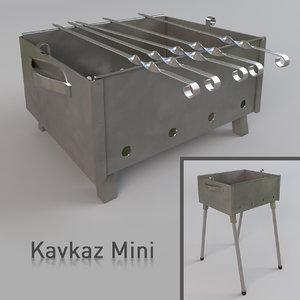 brazier kavkaz mini max
