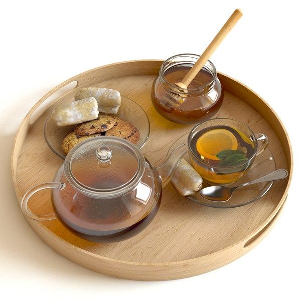tea honey 3d max