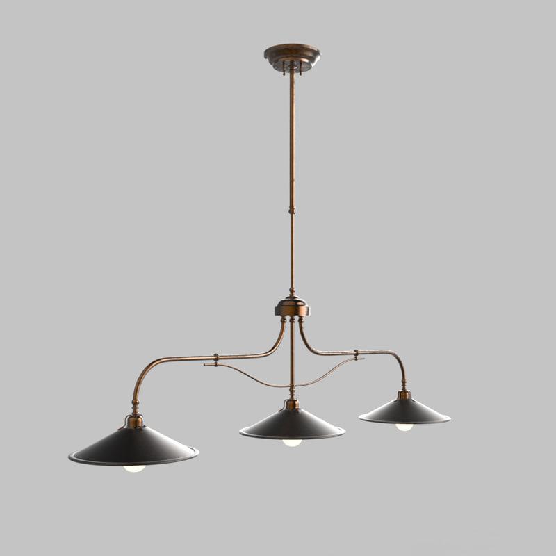3d poggio lamps il fanale model