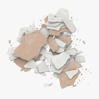 Broken Sheetrock - 02