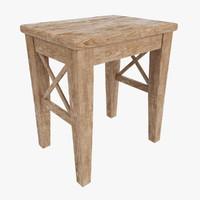 stool ingolf 3d max