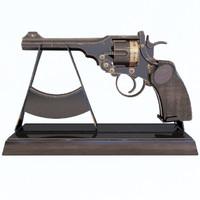 revolver webley 3d model