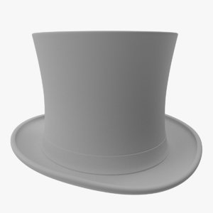 3d stylish hat