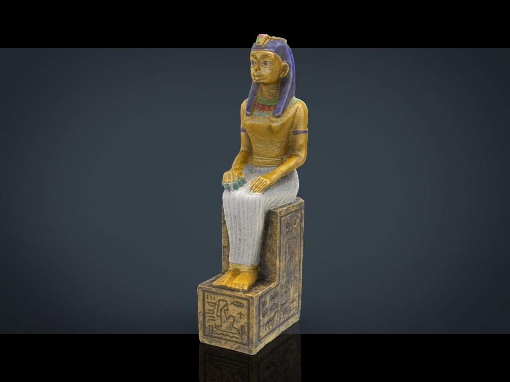 3d hd egyptian figure