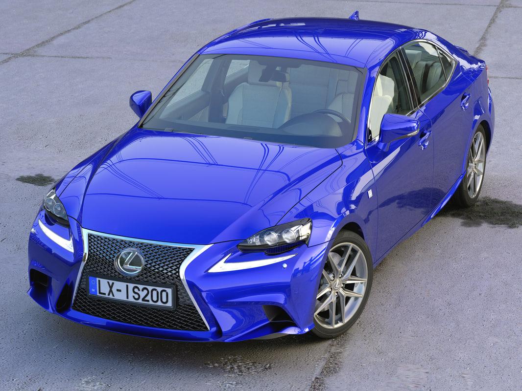 sedan sport 3d model