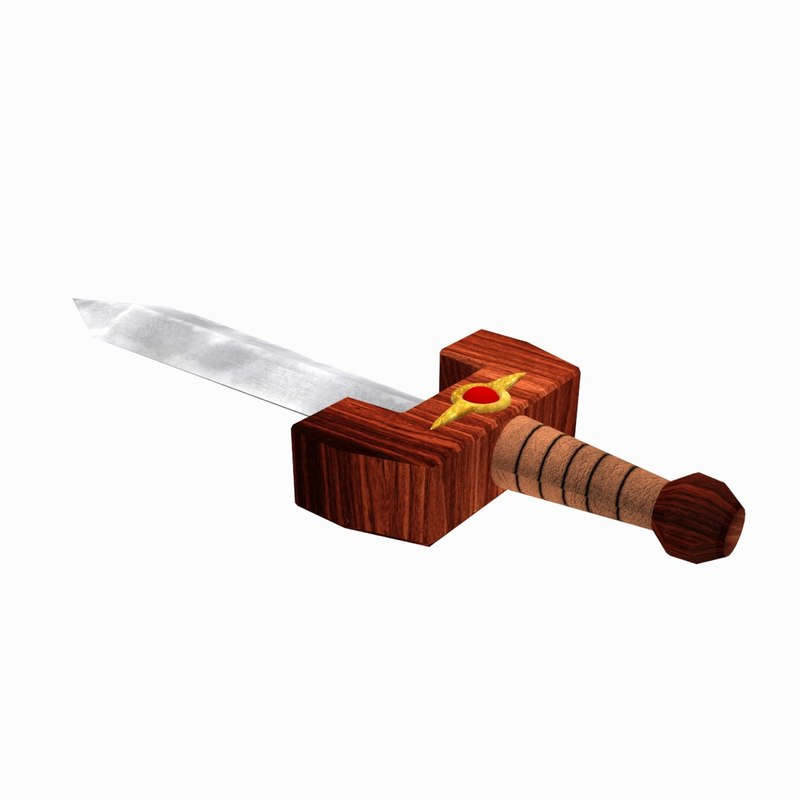 kokiri sword 3d model