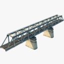 railway bridge 3D models