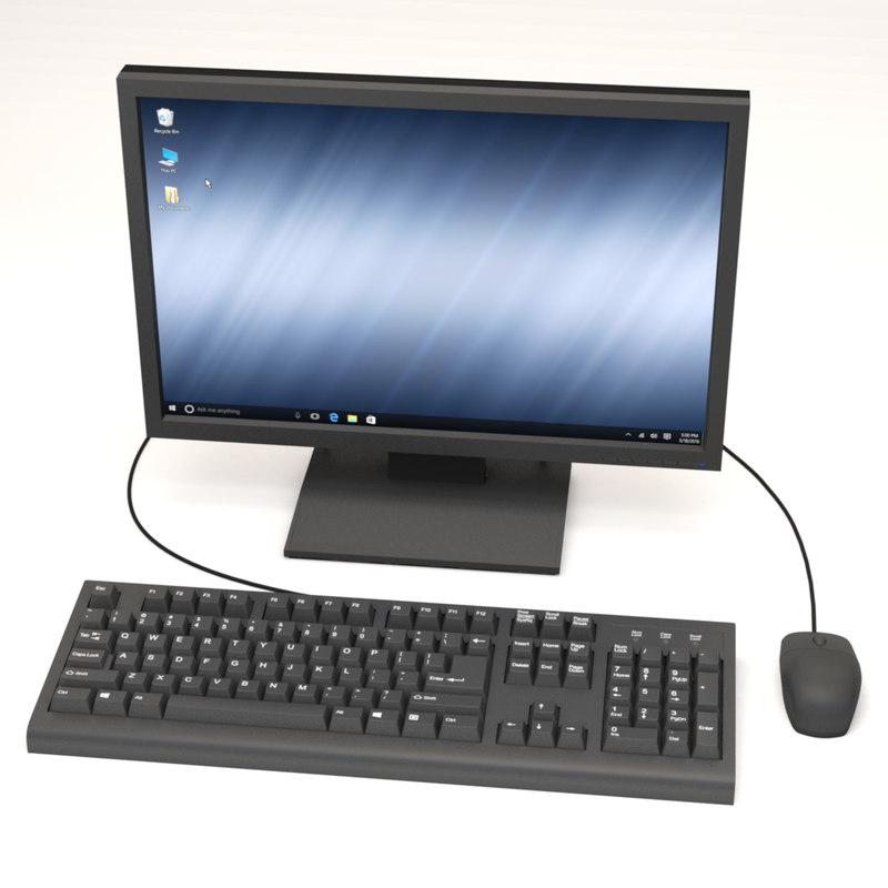 max computer monitor keyboard mouse
