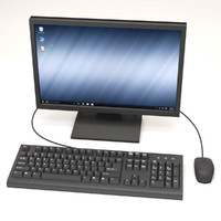 max computer monitor keyboard mouse