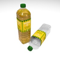 3d cooking oil bottle