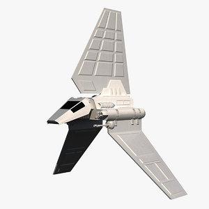 lambda shuttle 3d model