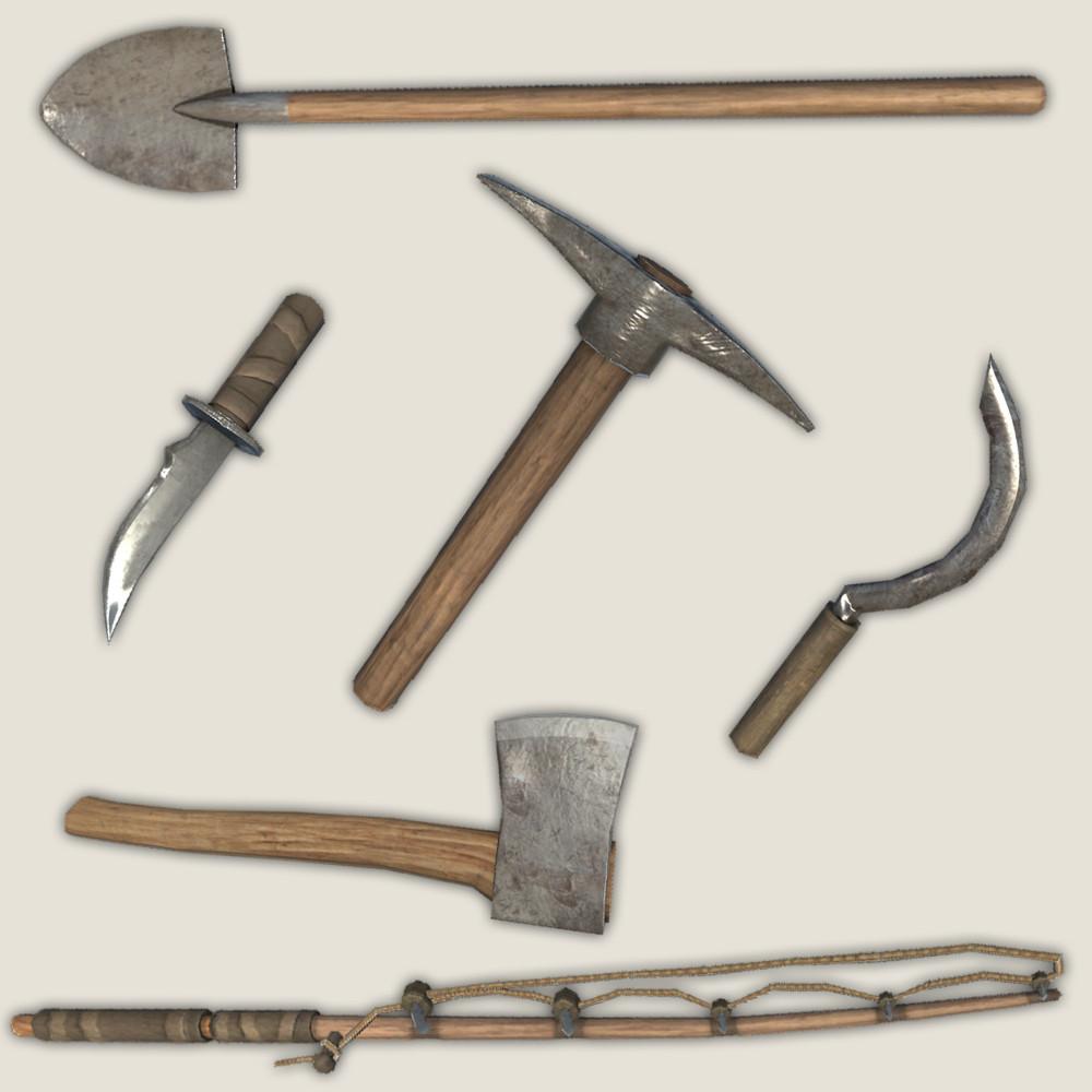free tools gathering 3d model