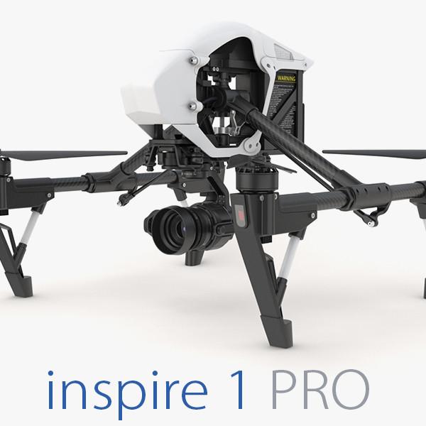 3d model dji inspire 1 pro