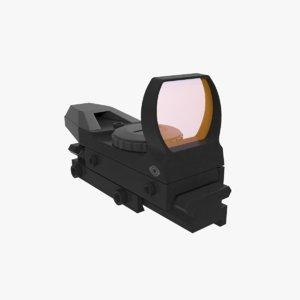 3d reflex sight