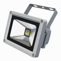 3d model led flood light
